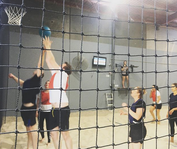 Indoor Beach Netball with CitySide Sports in Brunswick