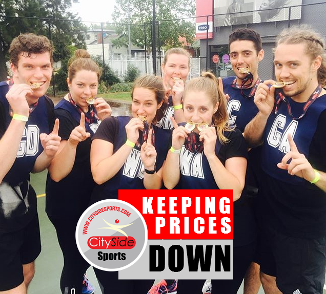 Social Netball Prices Low
